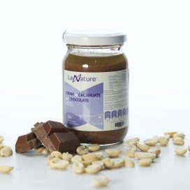Crema de Cacahuate con Chocolate