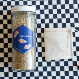 Té de manzanilla con bolsita de té de tela ~tarro chico