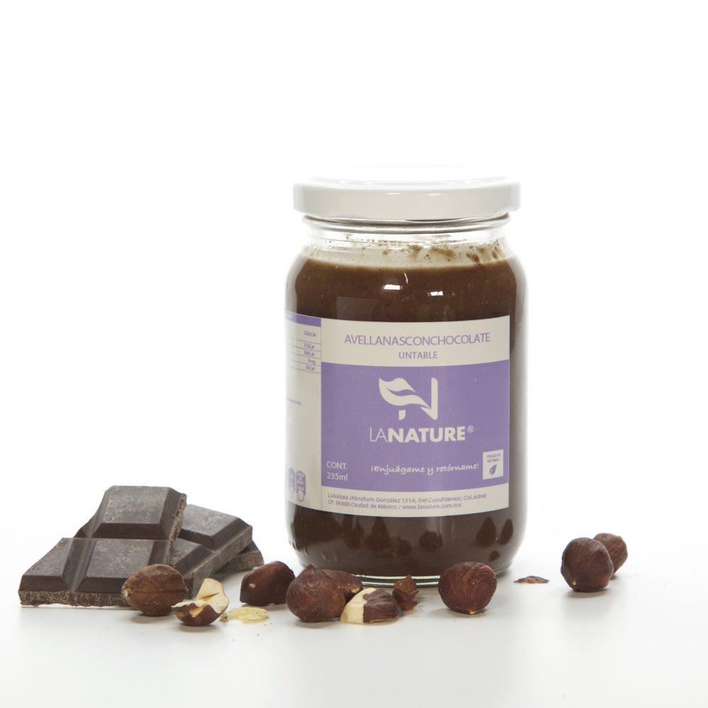 Crema de Avellana y Chocolate