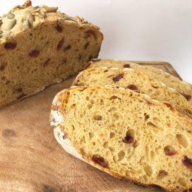 Pan de calabaza de castilla (masa madre)