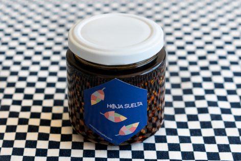 Salsa macha 4×4 – 4 chiles & 4 nueces