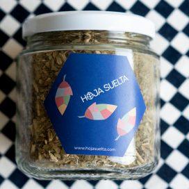 Té de yerba mate orgánico en Hoja Suelta ~tarro mediano