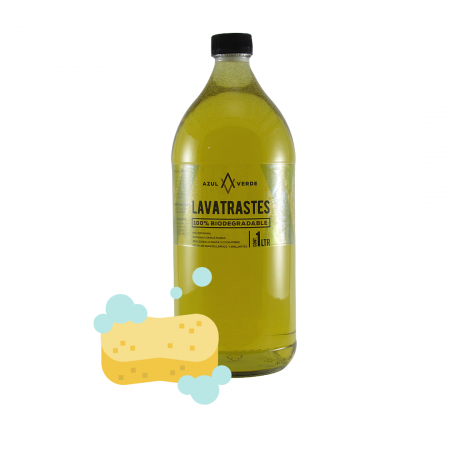 Detergente Lavatrastes biodegradable litro