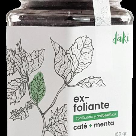 Exfoliante Café + Menta