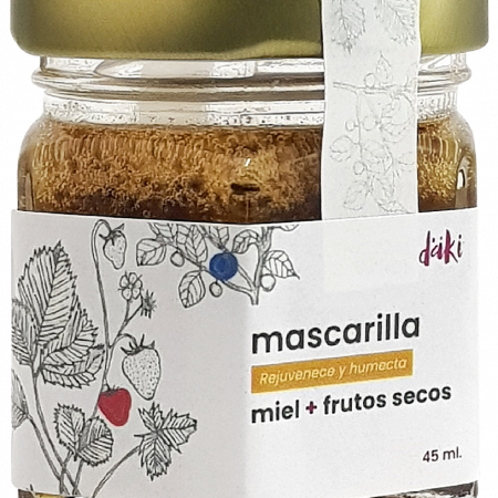 Mascarilla Miel + Frutos secos