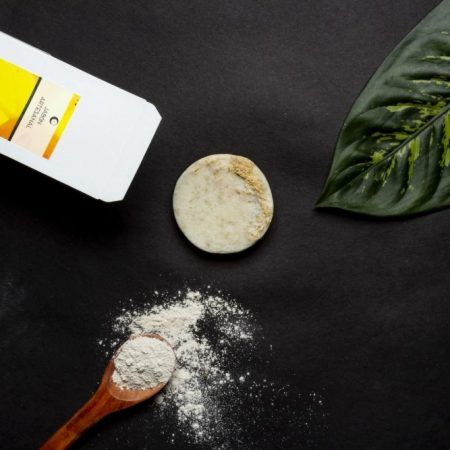 Jabón Exfoliante de Arcilla Blanca