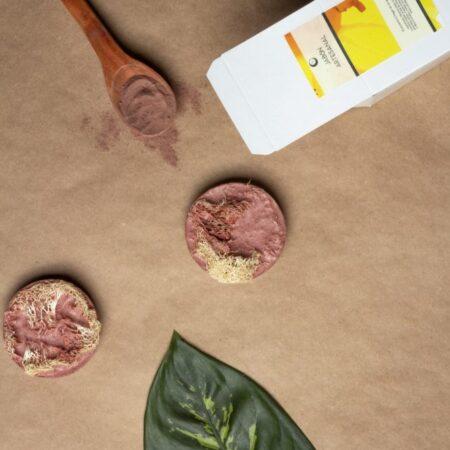 Jabón Exfoliante de Arcilla Roja