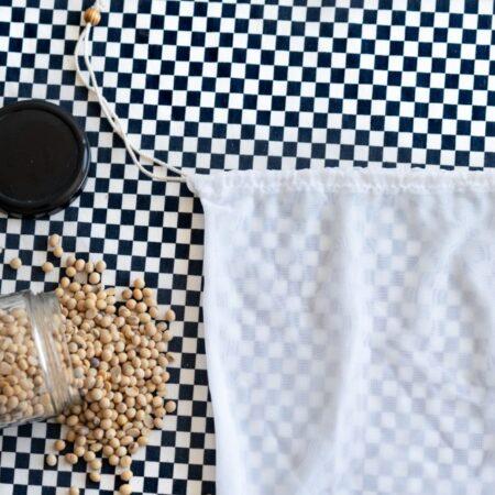 Bolsa-filtro para leche vegetal Hoja Suelta