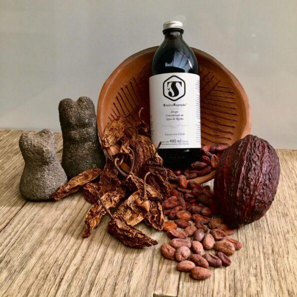 Cacao con chile