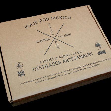 4 destilados artesanales mexicanos